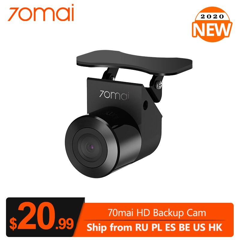 Kamera HD 70mai i kamera noktowizyjna dla 70mai wideorejestrator samochodowy szeroki strumień wsteczny Media kamera na deskę rozdzielczą tylko dla D07