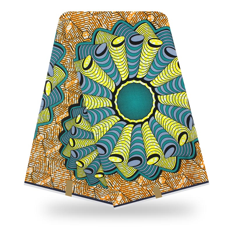 Wax Fabric 2020 High Quality African Fabric 100% Cotton Soft Ankara African Wax Print Fabric For Dresses