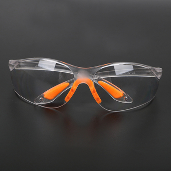 NICEYARD Sand Prevention Anti-dust Outdoor Safety Eye Protective Goggles Unisex Soft Silicone Nose Clip Labor Insurance Glasses