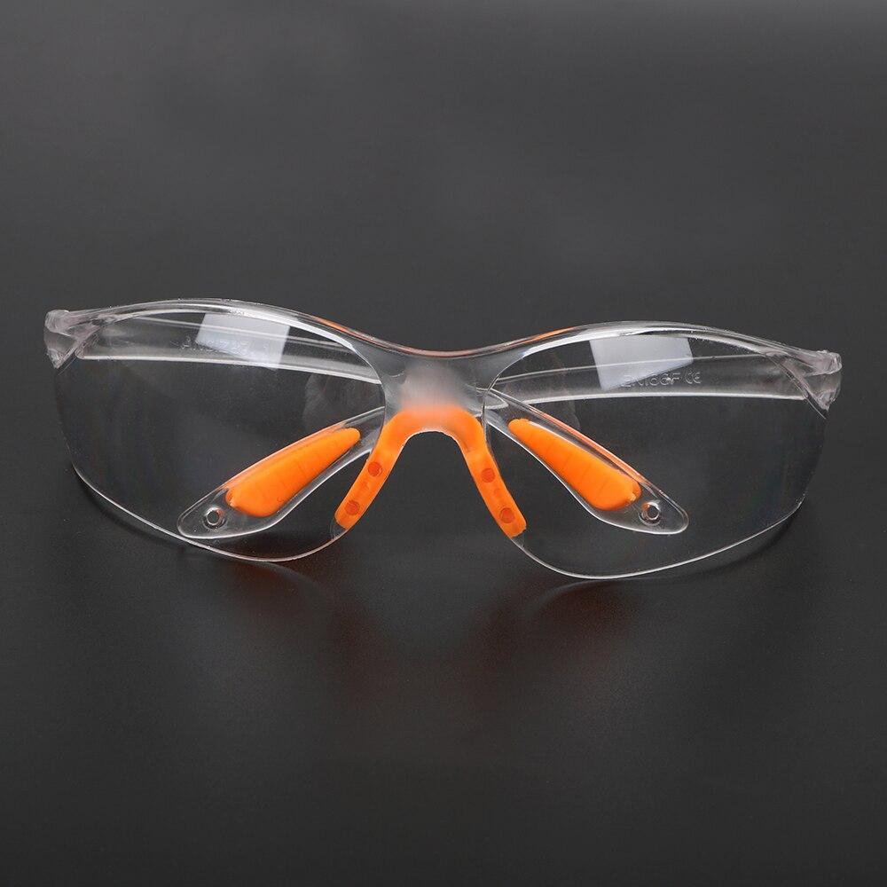 NICEYARD kum önleme anti-toz açık güvenlik göz koruyucu gözlük Unisex yumuşak silikon burun mandalı emek sigortası gözlük