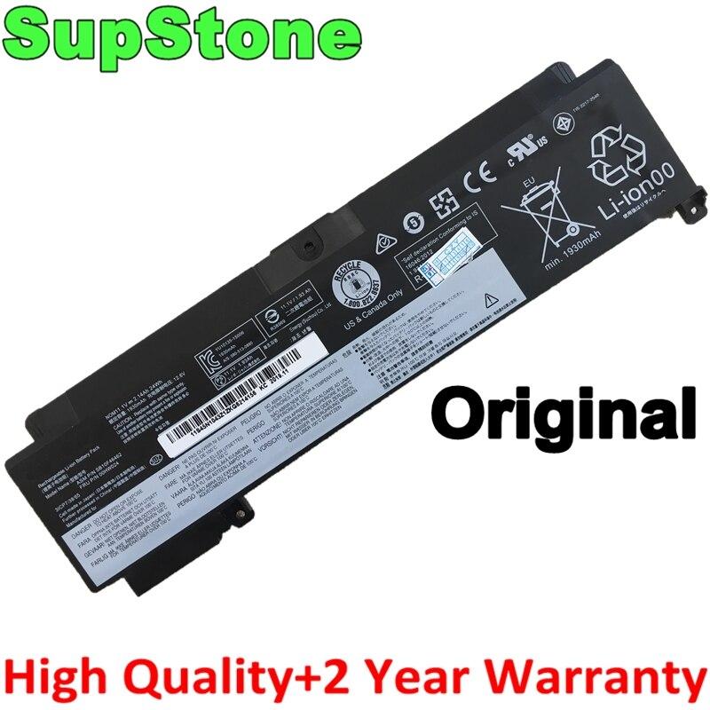 SupStone Genuine Original 01AV405 01AV407 SB10J79004 SB10F46462 00HW024 00HW025 Laptop Battery For Lenovo ThinkPad T460s T470S