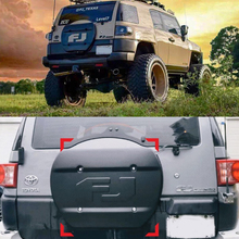Spare-Tire-Plate Cover Fj-Cruiser Toyota for Tailgate-Decoration