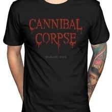 Cannibal Corpse 25 лет Футболка Death Metal Band Butchered Skull Tomb sbz1128