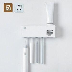 Image 1 - Dr. Meng Smart Steriliseren Tandenborstelhouder Inductie Tandenborstel Oplaadbare Wandmontage Zonder Boren