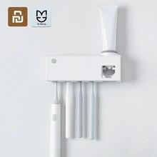 Dr. Meng akıllı sterilizasyon diş fırçası tutucu indüksiyon diş fırçası şarj edilebilir duvara monte sondaj olmadan