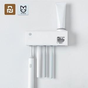 Image 1 - Dr. Meng الذكية تعقيم حامل فرشاة الأسنان التعريفي فرشاة الأسنان القابلة لإعادة الشحن الحائط دون الحفر