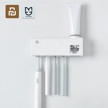 Dr. מנג חכם חיטוי מברשת שיניים מחזיק אינדוקציה מברשת שיניים נטענת קיר רכוב ללא קידוח