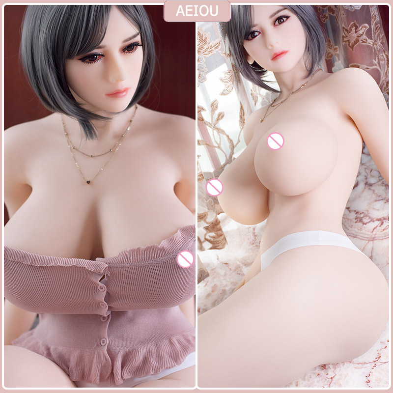<font><b>166cm</b></font> Huge Breast <font><b>Sex</b></font> <font><b>Dolls</b></font> Big Butt Full TPE Metal Skeleton Love <font><b>Doll</b></font> For Men Masturbation Beauty Artifical Vagina Anal <font><b>Sex</b></font> Toy image