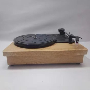 33/45/78 RPM Gramophone vinyl record player phonograph turntable player stereo audio output