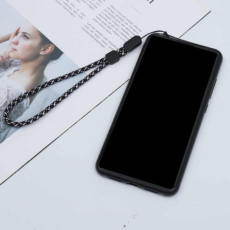 Shellnail Panas Ponsel Tali Usb Kunci Tali Pendek Adjustable Walkie Talkie Tangan Tali Pergelangan Tangan Tali Audio Anti Hilang lanyard