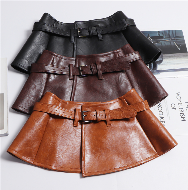 Women punk black peplum belt vintage fashion sexy corset brown red waistband cinturon mujer 2019