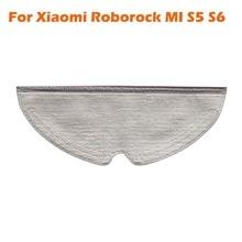 Полная зона уборки дизайн швабры ткани тряпка для XIAOMI MI Roborock S5 Max S50 S51 Xiomi MI Roborock S6 MaxV S5 робот-пылесос