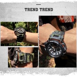 Image 5 - Smael Sport Horloges Waterdicht Mannen Horloge Led Digitale Horloge Militaire Mannelijke Klok Relogio Masculino Erkek Kol Saati 1708B Mannen Horloge