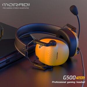 7,1 гарнитура с объемным звуком Pro Проводные игровые стерео наушники геймер с микрофоном магнитные наушники для ПК, PS4, Xbox One, переключатель