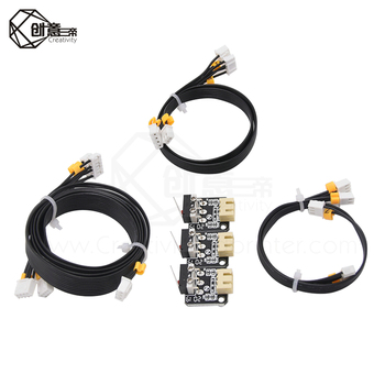 Limit Switch with wire  3PC/lot 3D Printer Part Accessories Mechanical Switch Module Endstops Switch for RepRap Ender3 [original] schneider limit switch travel switch xcmd2102l1 zcmd21