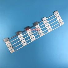100 Uds. Tiras de retroiluminación de TV LED de aluminio de 6v para Panel Konka KDL48JT618A KDL48SS618U 258YTK 35018539 6 LEDs 442mm 48 retroiluminado de TV