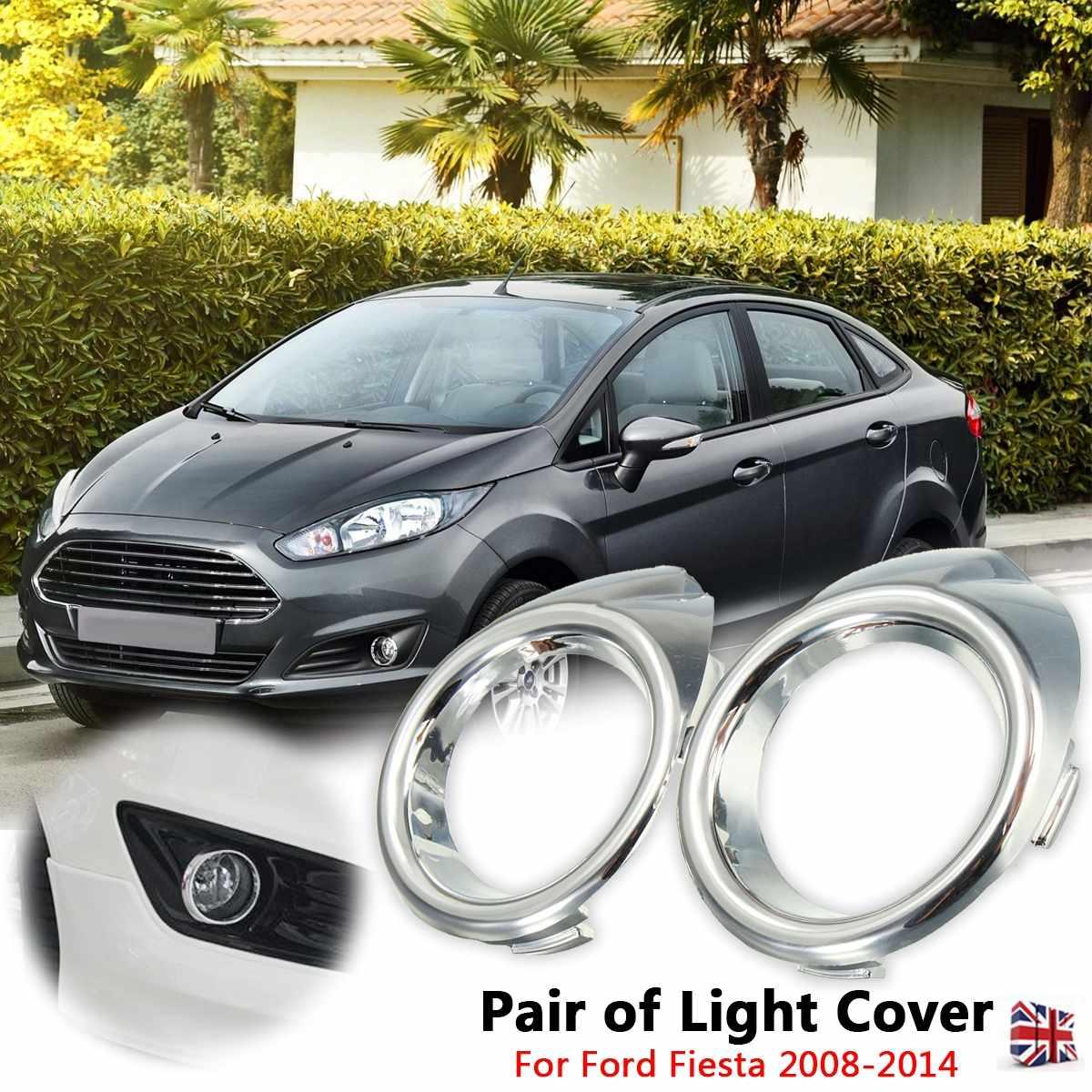Right side Fog Light Lamp Cover Bezel Trim Fit For Ford Fiesta 2013-2016