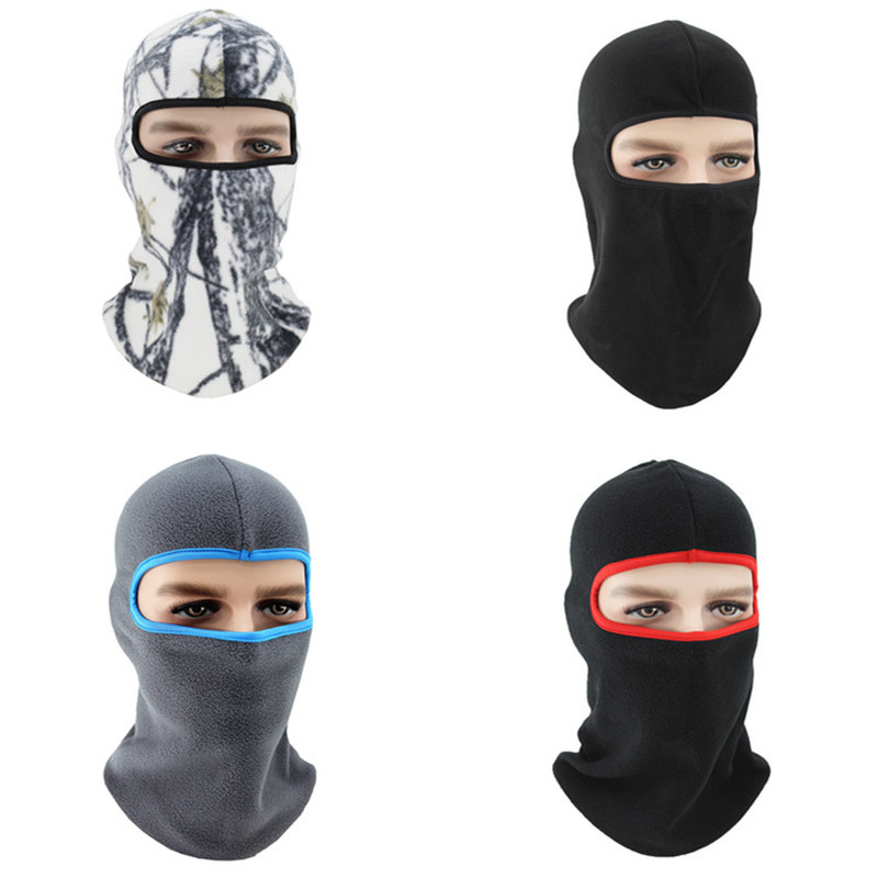 1PC Face Mask Hat Winter Fleece Neck Warmer Hiking Caps Cycling Face Cover Anti-dust Windproof Neck Helmet Ski Mask Balaclavas