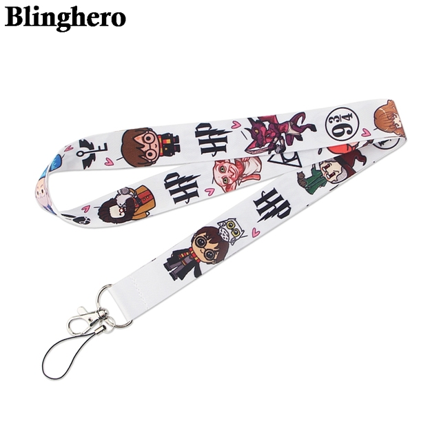 CA1508 Wholesale 20pcs/lot Magic School Hot Keychain Straps Rope Cell Phone Neck Strap Lanyard for ID Card Key Chain DIY Lanyard 5