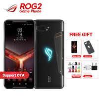 "Rom global asus rog 2 Teléfono de juegos ROG teléfono II ZS660KL 6,59 ""8GB RAM128GB ROM Snapdragon 855 + del teléfono móvil 6000mAh"