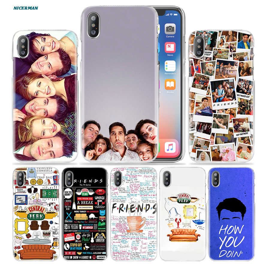 Friends Together Case For Apple Iphone 11 11pro 7 7s 8 Plus X Xs Max Xr 6 6s Se 2020 Hard Funda Pc Phone Cover Coque Tv Show Phone Cases Case Cover6s Plus Aliexpress