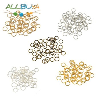 200-400pcs/lot 3/4/5/6/7/8/10/12mm Round Jump Rings Split Rings Connectors for DIY Jewelry Finding Making Accessories Supplies lot 0 1 2 3 4 5 6 7 8 10 connectors heavy duty ball bearing swivel solid rings sea fishing accessories silver