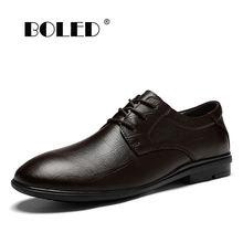 Новое качество Мужская обувь из натуральной кожи для мужчин