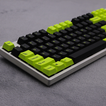 MP Toxic Keycap Cherry Profile Dye-Sublimation 108/133 Keys Thick PBT Keycaps MX Switch Mechanical Keyboard Keycap