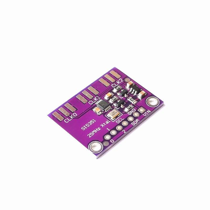 Настольная плата для генератора часов Si5351A Si5351 I2C, 3-5 в постоянного тока, Модульная плата для выключения, генератор сигналов, часы 8 кГц-160 МГц ...