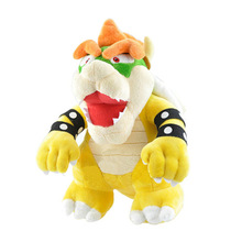 new Super Mario Bros Bowser King Koopa Yellow Plush Toy Soft Dolls 13cm/25cm Kids Gift Lovely Koopa Dolls game super mario odyssey hat adult kids anime cosplay caps super mario bros plush toy dolls hallowen party props
