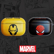 the super hero iron man case for airpods pro 1 2 anime captain american spiderman venom hulk model protect cover for airpod Cool Marvel Spiderman iron Man For AirPods 1 2 Soft Earphone Case for AirPods pro Cover Case fashion Bluetooth Headset Box