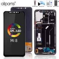 Écran LCD Pour Xiaomi Mi 8 Mi8 Ecran Complet Vitre Tactile Original 6.21 inch Noir Kit Outils