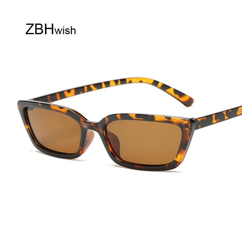 Fashion Square Sunglasses Women Luxury Brand Designer Trendy Narrow Triangular Glasses Small Vintage Sun Glasses Ladies