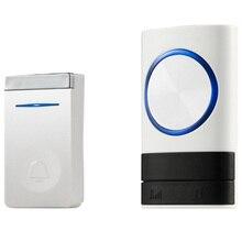 Eu Plug Self Generation Wireless Doorbell Home Smart Electro
