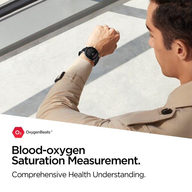 2021 nova amazfit gtr 2e smartwatch 1.39 amamamoled sono qualidade monitoramento freqüência cardíaca 5 atm relógio inteligente para andriod para ios 3