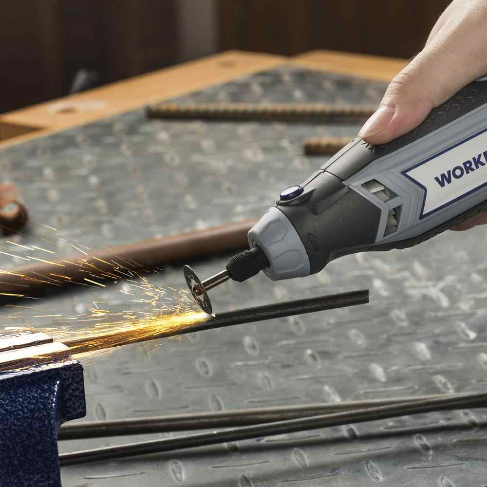 WORKPRO 276 шт. аксессуары для вращающихся инструментов для Dremel мини сверла набор абразивных инструментов шлифовальный полировальный режущий инструмент наборы
