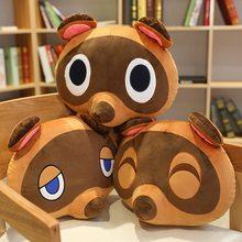 Peluche Animal Crossing 40cm, poupée de dessin animé, ours en peluche, jouets d'oreiller, cadeaux de noël pour enfants
