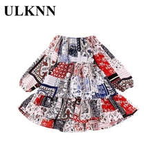 Girls Dress Kids Children 3-8-Years-Old Long-Sleeve Summer Casual for Fashion Clothing