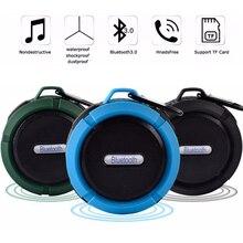 C6 Mini Bluetooth Speaker Portable Waterproof Wireless Handsfree Speakers Showers Bathroom Pool Car Beach Outdoor TF Subwoofer