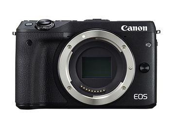 Kullanilan Canon EOS M3 aynasız kamera seti ile EF-M 18-55mm Lens - Wi-Fi etkin