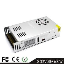 נפח קטן 600W 12V 24V 36V 48V 60V מיתוג אספקת חשמל רובוטריקים AC110V 220V כדי DC12V SMPS עבור Led CCTV 3D מדפסת
