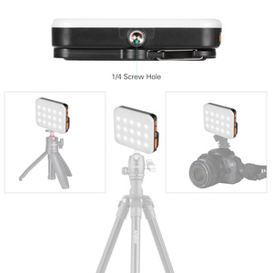 Image 3 - Andoer LY 01 RGB LED Fill Light Photography Lamp Multi functional Superbright 3200K 6500K Built in Battery Black