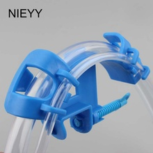 цена на 1pc Fish Tank Water Pipe Hose Fixing Clip Aquarium Water Exchange Clamp Inlet And Outlet Pipe Clamp Drainage Pipe Fixator