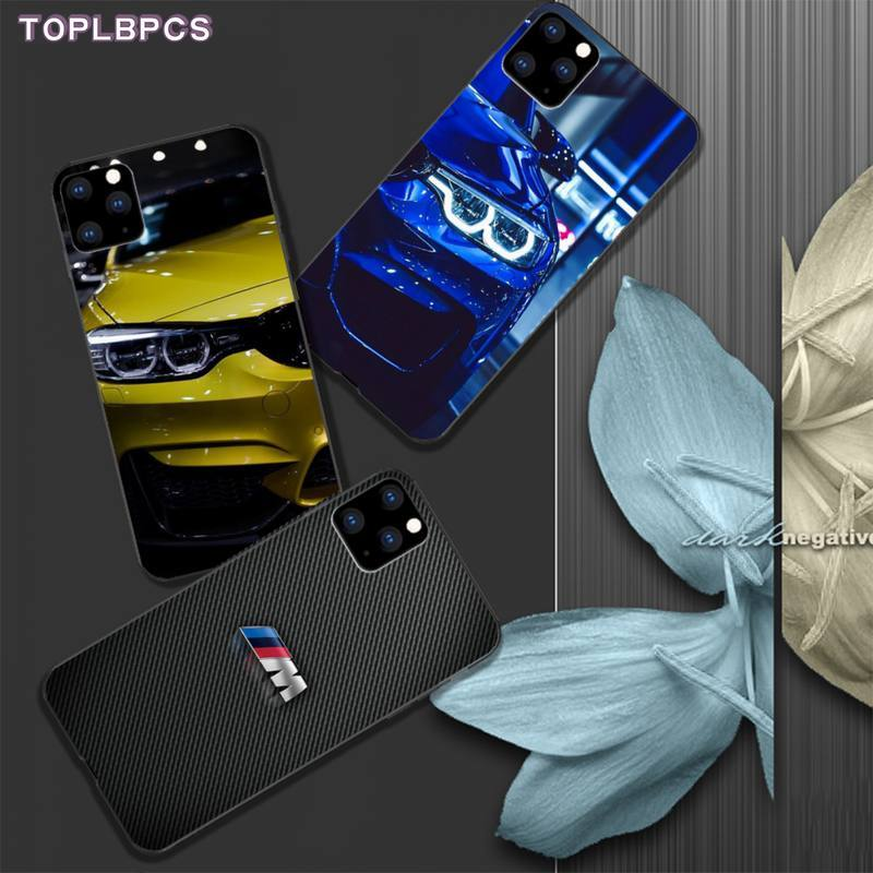 TOPLBCS BMW mobile phone case cover for iphone 5s se 2020 6 6s 7 8 plus x xs max xr 11 pro max funda image