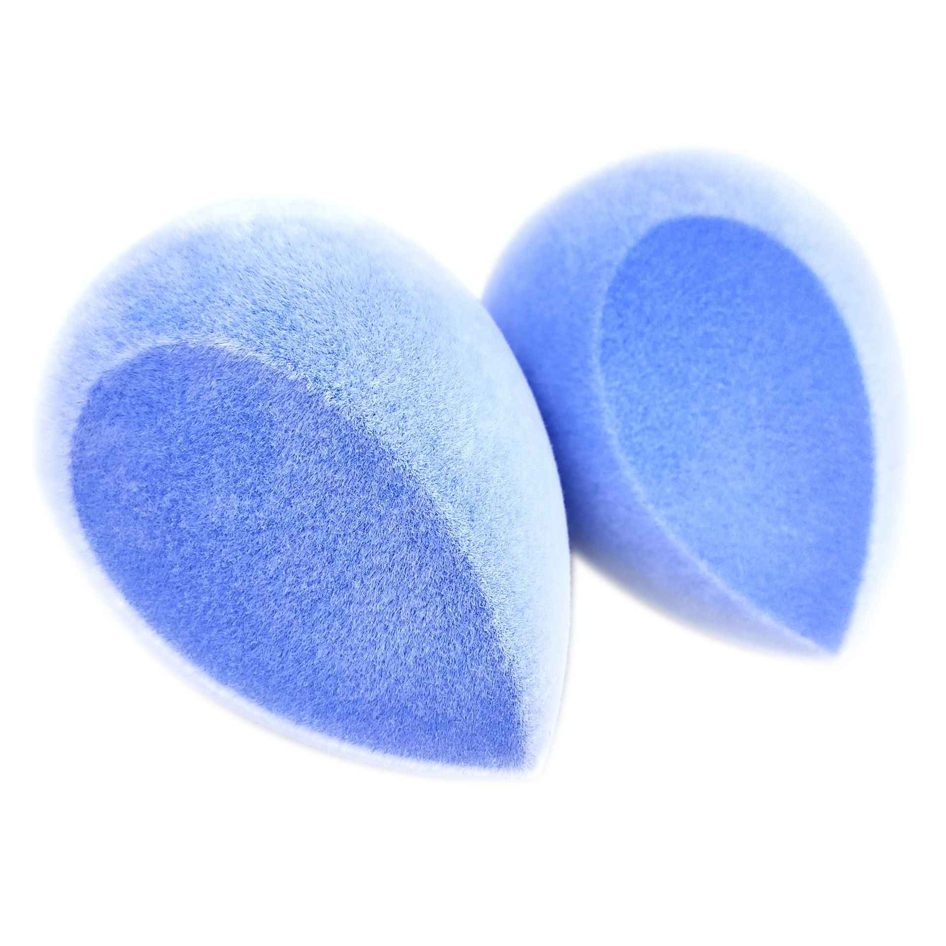 4 colori Viso di Trucco della Spugna Soffio Estetica Del Viso Correttore Crema Prodotti di base In Polvere Frullatore Soffio Set Uovo Scatola Del Supporto Del Basamento