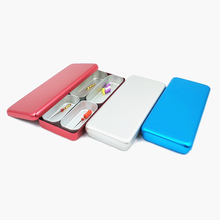 1PC Dental Sterilizer metal Case endo Files Holder Box Autoclave Sterilizer Case Burs holder box For Oral Care Tool Three Colors dental endo box fg ra hp burs holder autoclave disinfection box 91 holes 4 holes 1 pan
