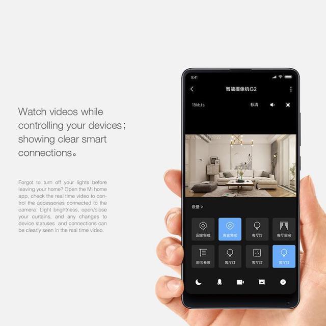 2PCs Original Aqara 1080P Smart Camera G2 Hub Gateways Edition Zigbee Linkage IP Wifi Wireless Cloud Home Security Smart Device