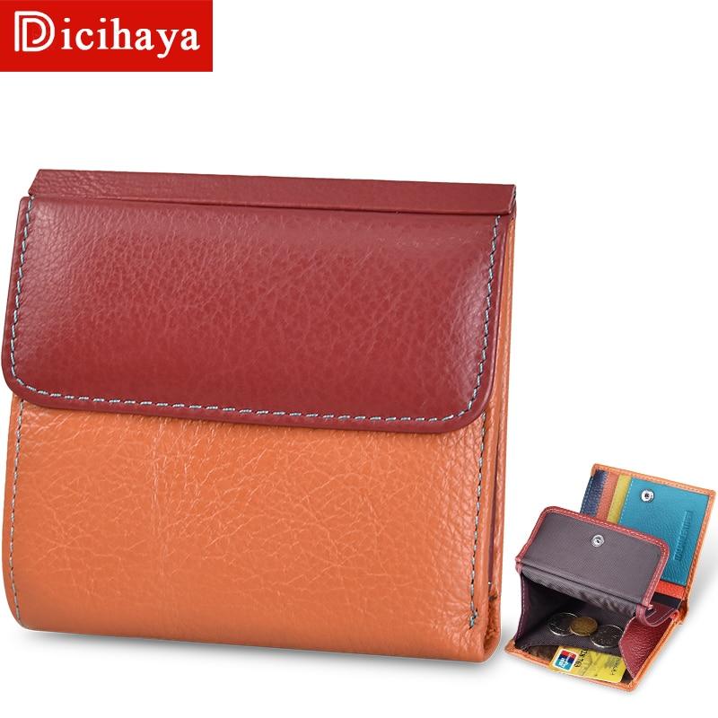 Bolsa de Embreagem Bolsa de Couro Bolsa de Cartão para Mulheres Feminina Pequena Contraste Senhoras Cor