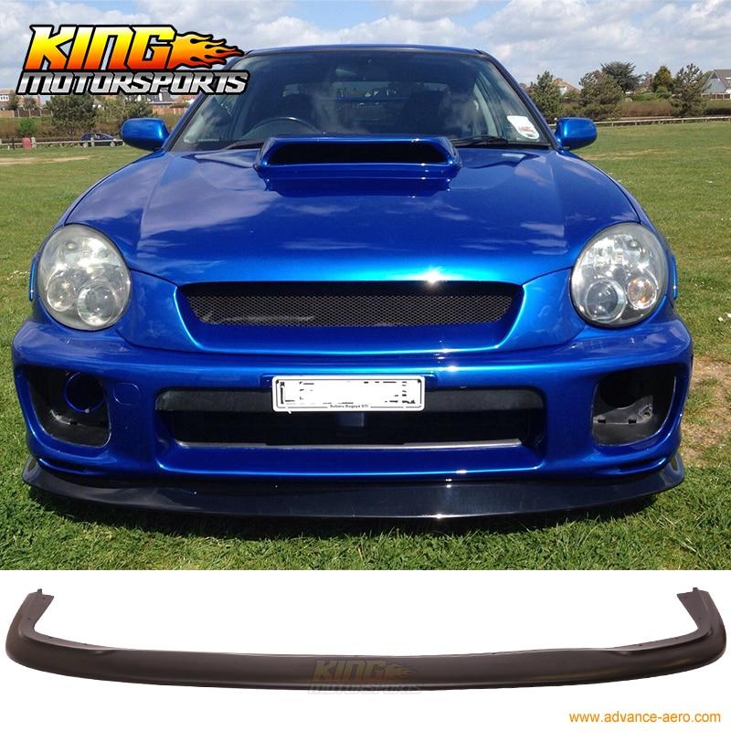 Передний бампер для Subaru Impreza DP, спойлер-уретан ПУ, подходит для 2002-2003