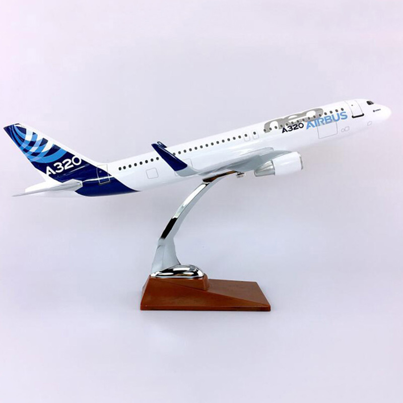 36cm diecast Aircraft Toys 1/100 scale Airbus A320NEO airplane model airlines airplane alloy gifts plane for kids collectible image